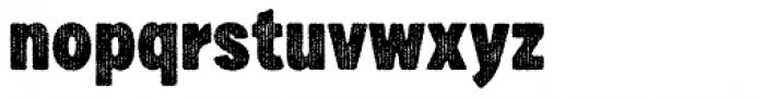 Draft Natural HiResTwo F Black Font LOWERCASE