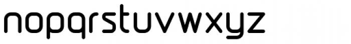 DraftWerk Bold Font LOWERCASE