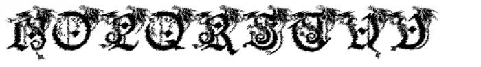 Drago Slice Font UPPERCASE