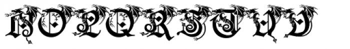 Drago Font UPPERCASE