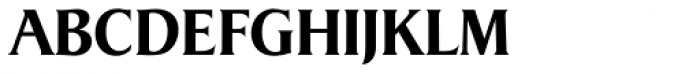 Dragon Serial Bold Font UPPERCASE