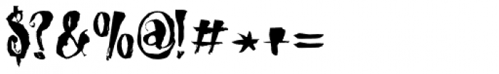 Dragonblood Font OTHER CHARS
