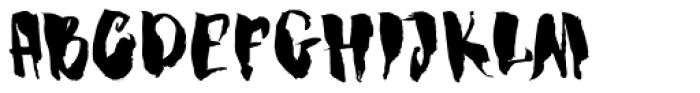 Dragonblood Font UPPERCASE