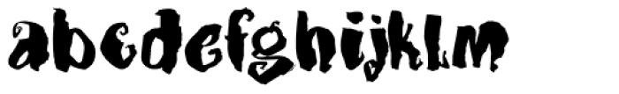 Dragonblood Font LOWERCASE