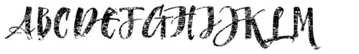 Dragonflight Pro Rough Font UPPERCASE