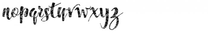 Dragonflight Pro Rough Font LOWERCASE