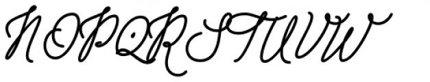 Drama Quality Regular Font UPPERCASE