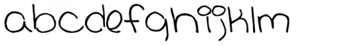 Drama Queen Font LOWERCASE