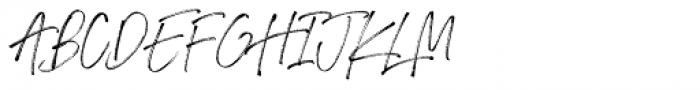 Drama Font UPPERCASE
