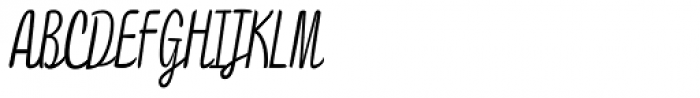 Draw 1 Font UPPERCASE