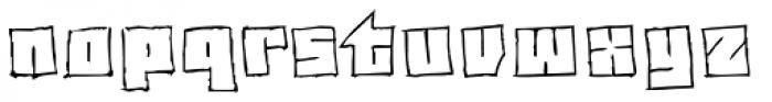 Drawboard BT Font LOWERCASE