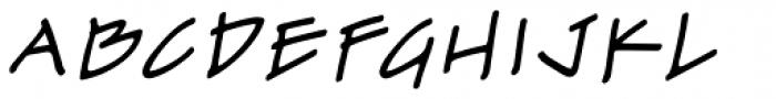 Drawing Board BB Italic Font UPPERCASE
