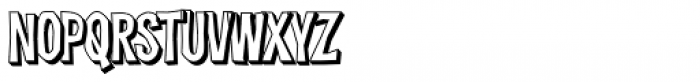 Dreadful Shadow Font LOWERCASE