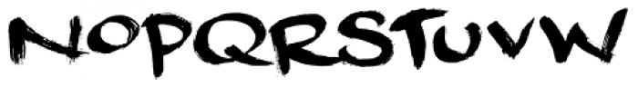 Dreadnought Font UPPERCASE