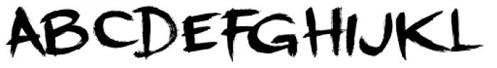 Dreadnought Font LOWERCASE