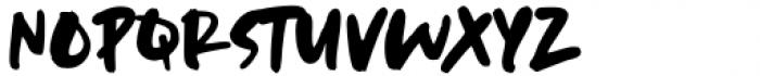 Dream Earth Regular Font UPPERCASE