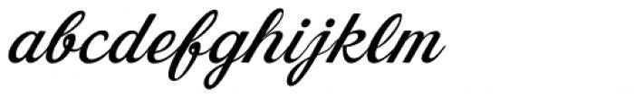 Dream Lover Regular Font LOWERCASE