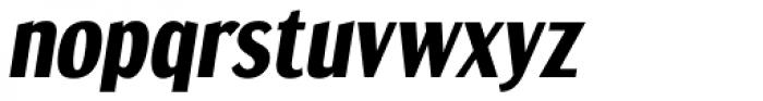 Dream Orphanage Heavy Italic Font LOWERCASE