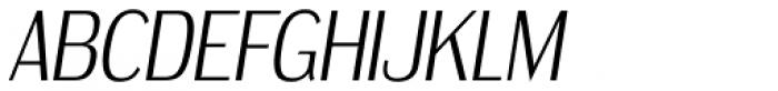 Dream Orphanage Light Italic Font UPPERCASE