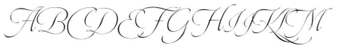 Dream Script Standard Font UPPERCASE