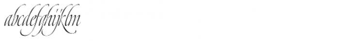 Dream Script Standard Font LOWERCASE