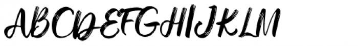 Dreaming Regular Font UPPERCASE