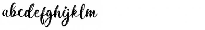 Dreaming Regular Font LOWERCASE