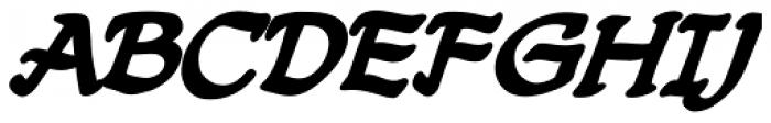 Dreamland Lower Bold Italic Font UPPERCASE