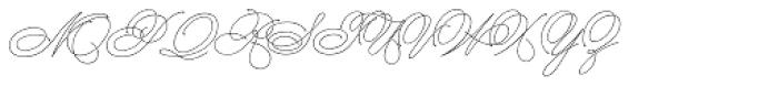 Dreamline B Font UPPERCASE