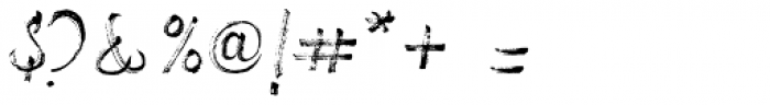Drillmaster Regular Font OTHER CHARS