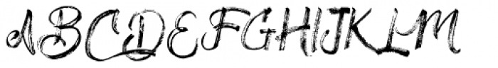 Drillmaster Regular Font UPPERCASE