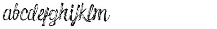 Drillmaster Regular Font LOWERCASE