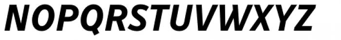 Drive Bold Italic Font UPPERCASE