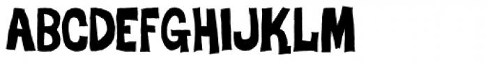 Dro Font LOWERCASE