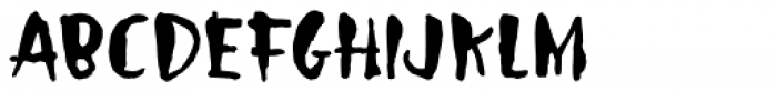 Droeming Normal Font UPPERCASE