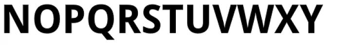 Droid Sans Pro Bold Font UPPERCASE