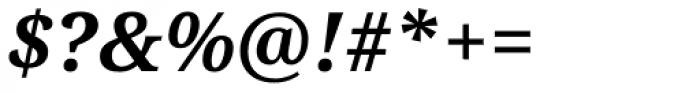 Droid Serif Pro Bold Italic Font OTHER CHARS