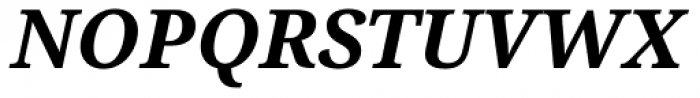 Droid Serif Pro Bold Italic Font UPPERCASE