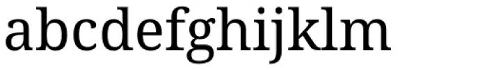 Droid Serif Pro Font LOWERCASE