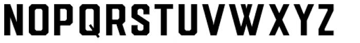 Drone Ranger Pro Bold Font LOWERCASE