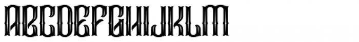 Droptune Font UPPERCASE