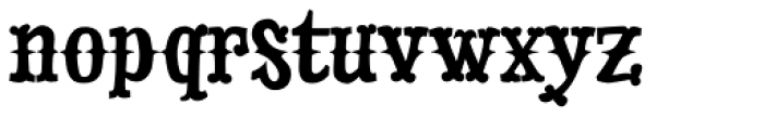 Drunk Cowboy Font LOWERCASE