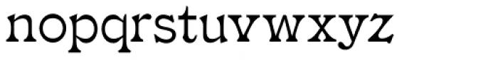 Drury Lane NF Font LOWERCASE