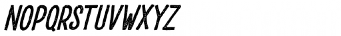 Drustic Dialy Condensed Italic Font LOWERCASE