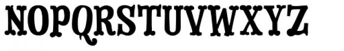 Dry Cowboy Font UPPERCASE