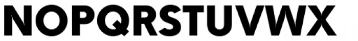 Drystick Extra Bold Font UPPERCASE