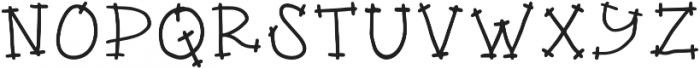 DS Apple Pie Regular otf (400) Font UPPERCASE