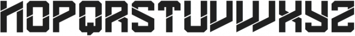 DS MARET`12 ttf (400) Font UPPERCASE