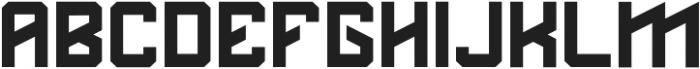 DS MARET`12 ttf (400) Font LOWERCASE