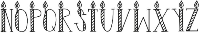 DS Surprise Regular otf (400) Font UPPERCASE